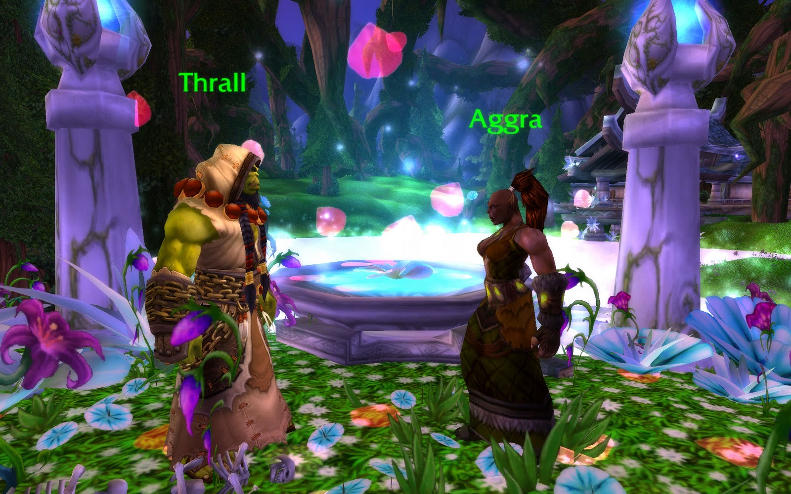 Thrall and aggra wedding