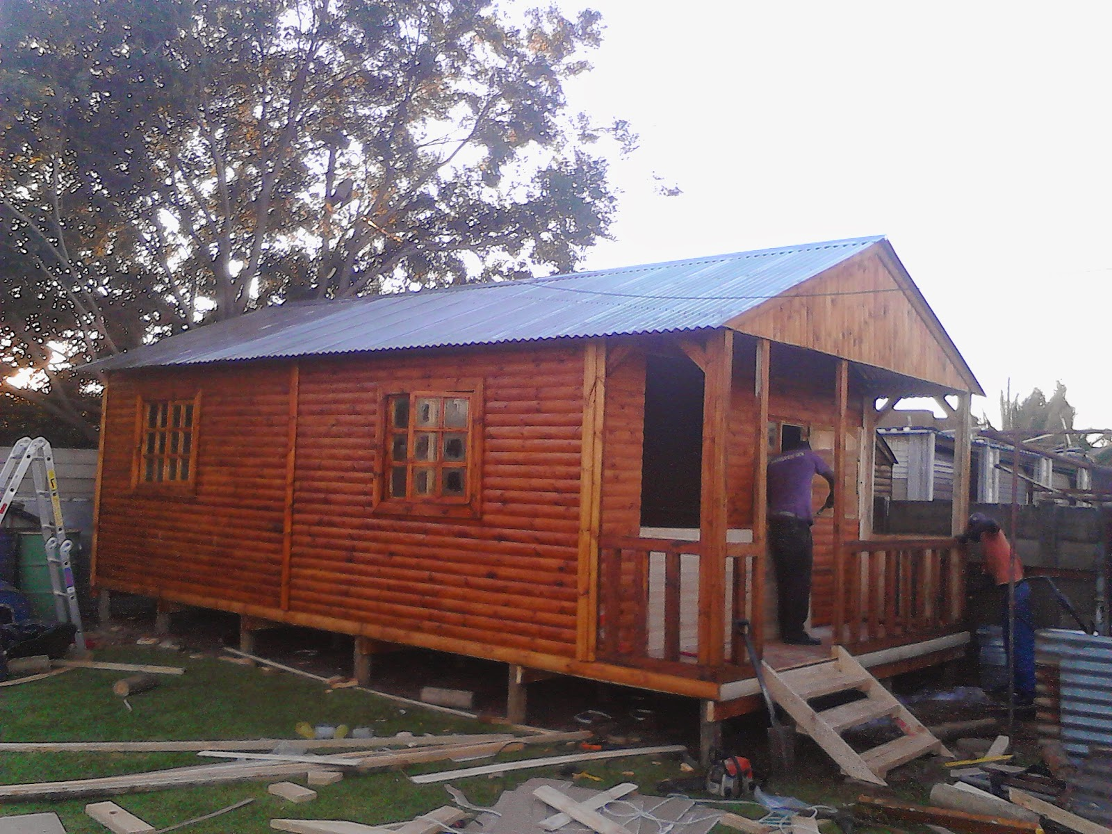 Affordable log cabins gauteng log cabins Log cabin for two