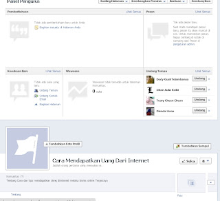 Cara Membuat halaman fanspage