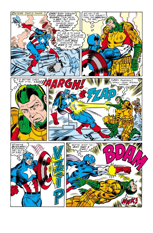 Captain America (1968) Issue #338 #267 - English 22