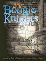 bookcover of Boogie Knights  by Lisa Wheeler