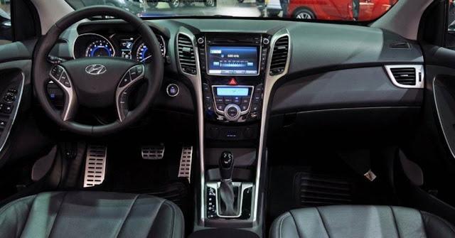 Hyundai i30 2014 1.8 - painel