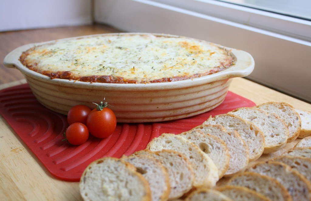 Recipes from HT's Kitchen: Hot Pizza Dip