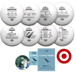 frisbee target
