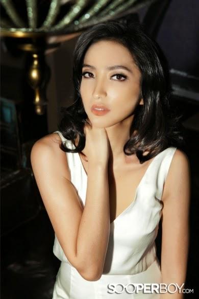 Imelda Therinne Model Majalah Sooperboy April 2014