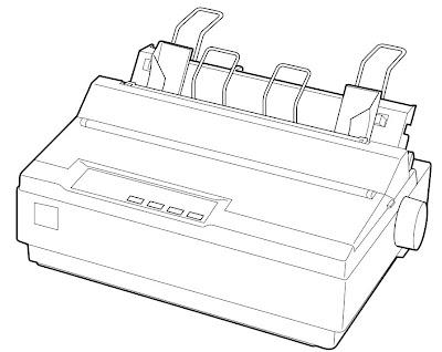 принтер Epson LX- 300 + II