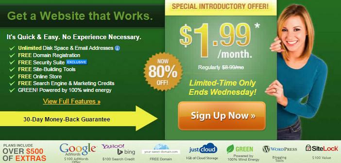 حجز استضافة ipage بخصم 80% من سعرها