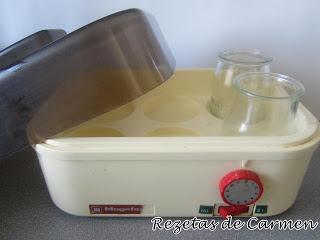 Utensilios de cocina: La yogurtera