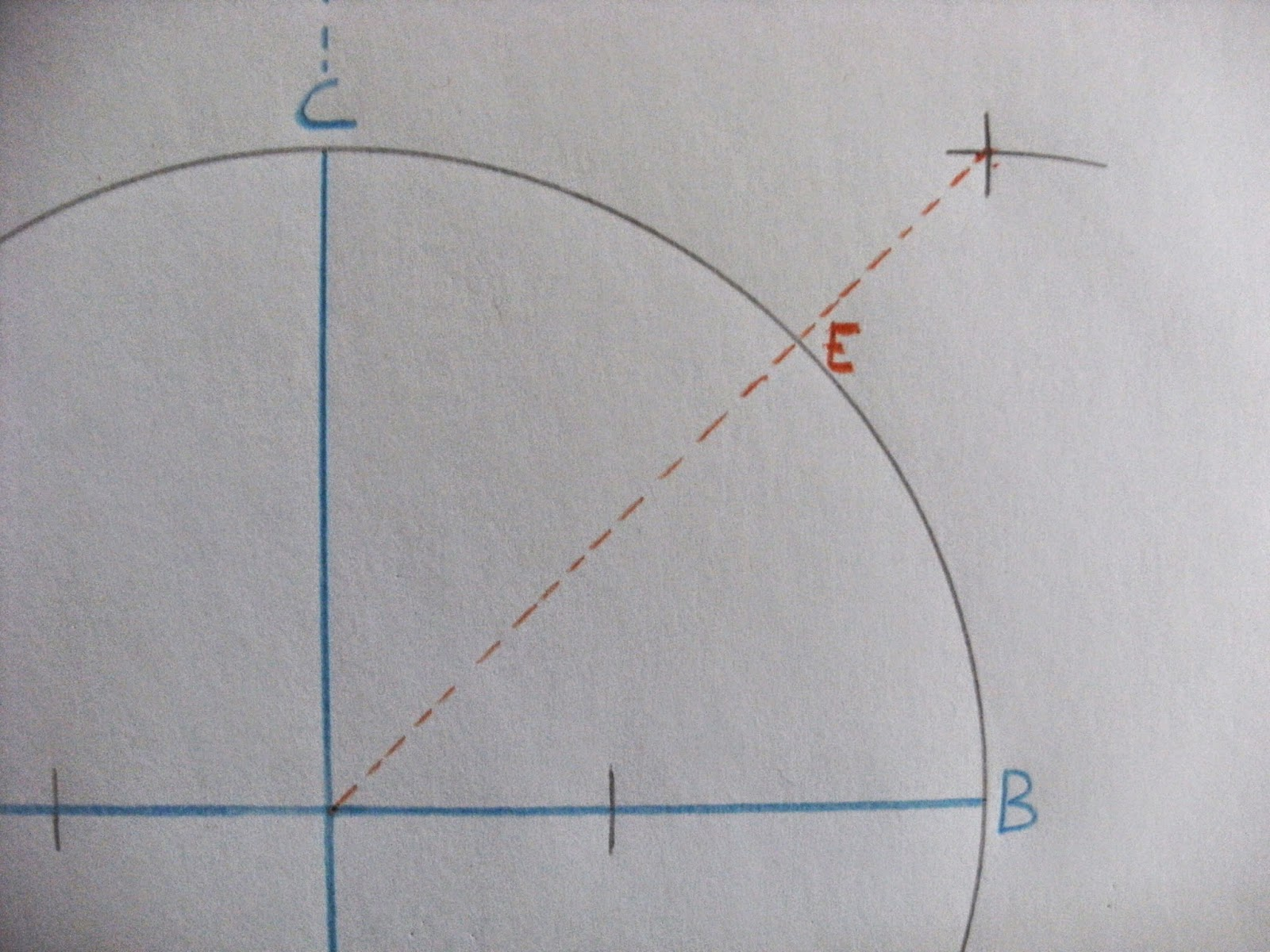 Drawing Perpendicular Lines With A Compass : To inscribe an octagon in a circle math on the mckenzie