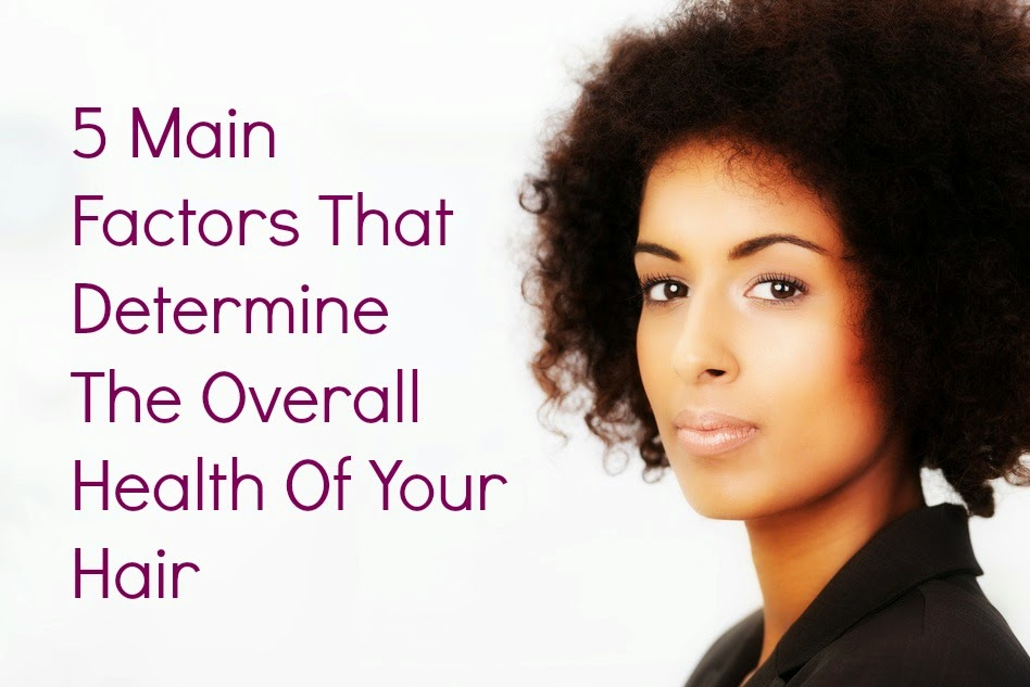 5 Main Factors That Determine The Overall Health Of Your Hair