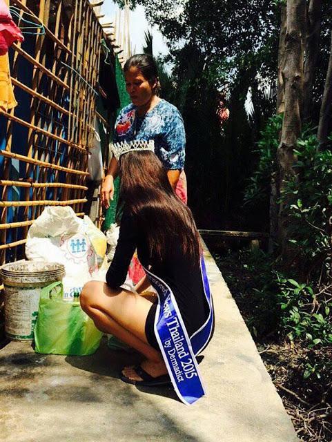 Foto Miss Thailand 2015