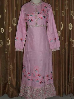 Model Baju Muslim Gamis Katun Murah