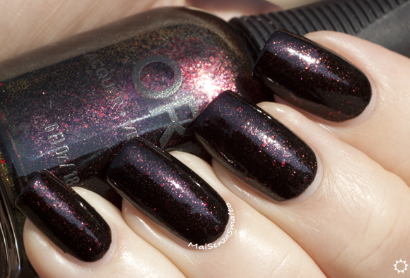 Orly Darkest Shadow (Smoky Collection)