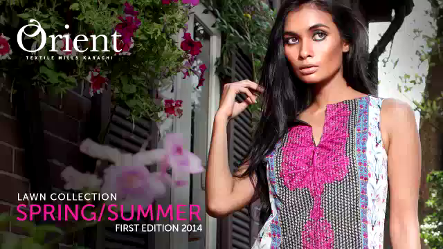 Orient Textiles Spring Summer Collection 2014