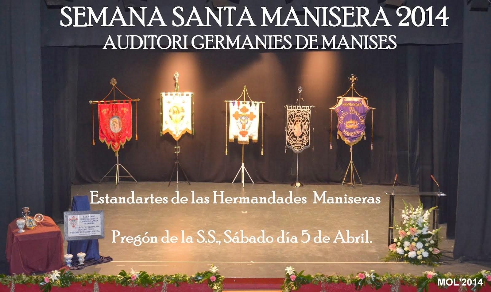 PREGÓN DE LA SEMANA SANTA MANISERA 2014