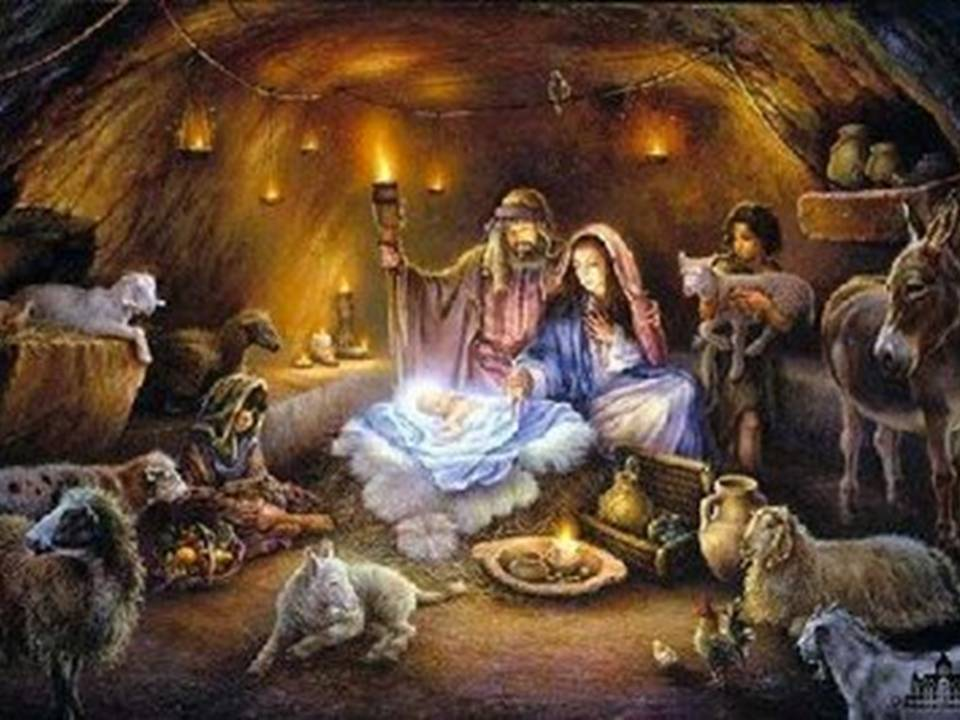 Artist conception of the stable where Jesus of Nazareth was born in