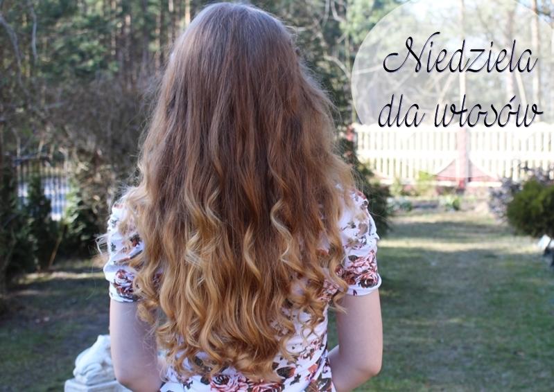 Niedziela dla włosów - nieco ''napuszona'' :)