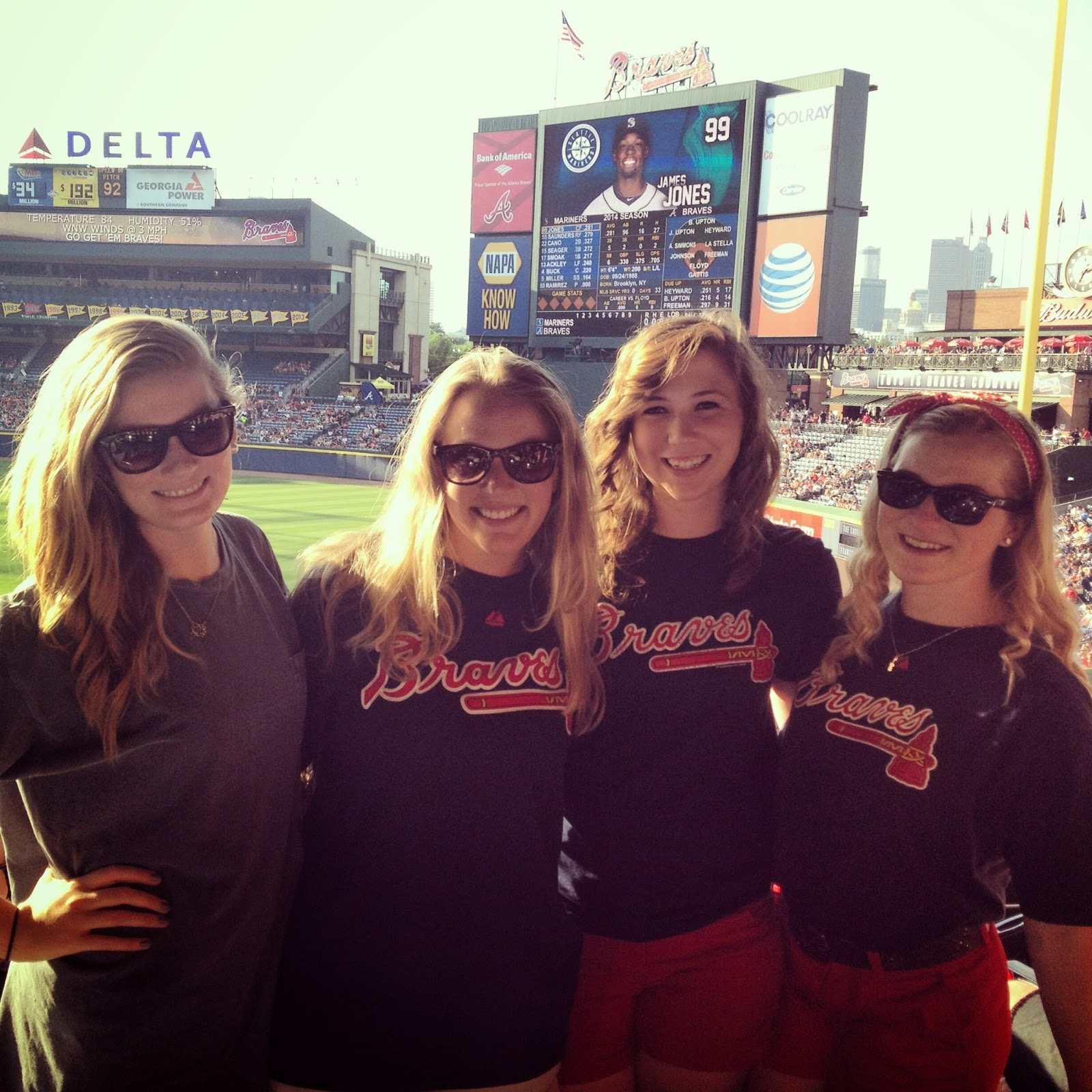 Braves girls