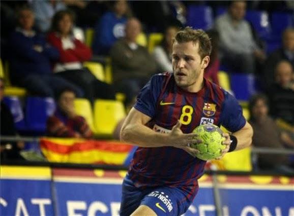 Victor Tomás, 10 goles en la paliza del Barcelona al Paris SG | Mundo Handball