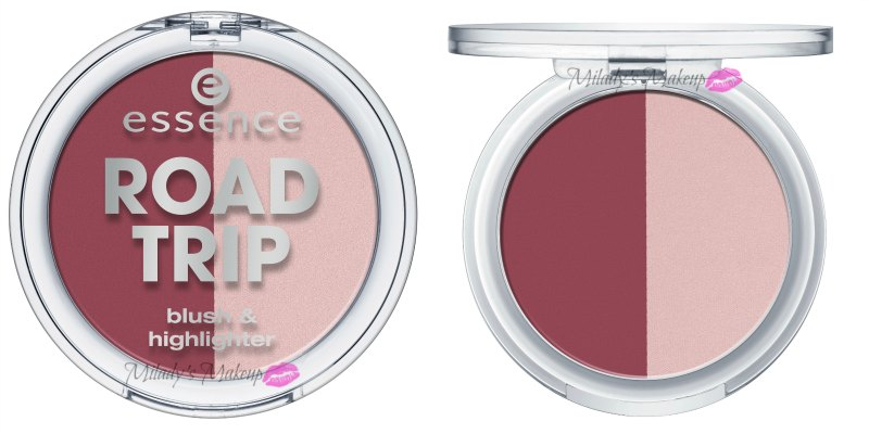 Essence Road Trip duo colorete iluminador