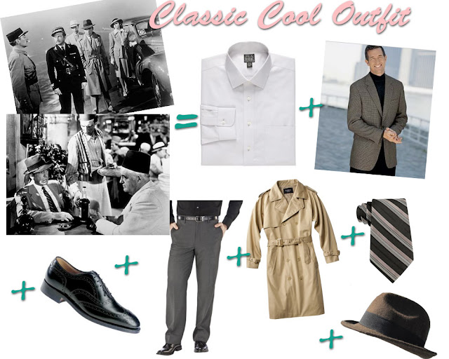 Flashback Summer:  Casablanca Week- Get the Look- Humphrey Bogart