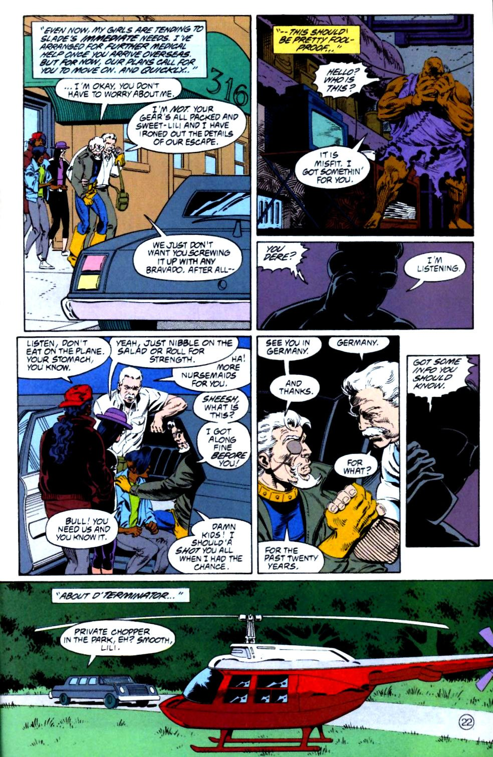 Deathstroke (1991) Issue #15 #20 - English 23