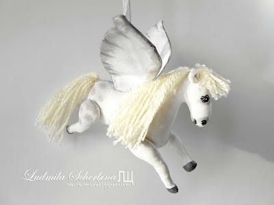 мягкая игрушка лошадь пегас