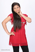 Kothaga Rekkalochena Heroine Geethanjali Photo shoot-thumbnail-6