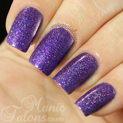 Girly Bits Lacquer No Such Thing as a Purple Problem Swatch