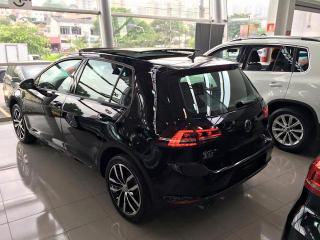 VW Golf Highline 2015 Preto
