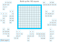 square scribble square hundred chart number square one hundred boxes