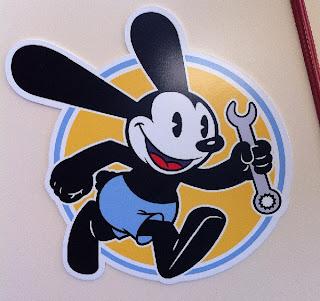 Oswald Lucky Rabbit Oswald's Service Station Disney