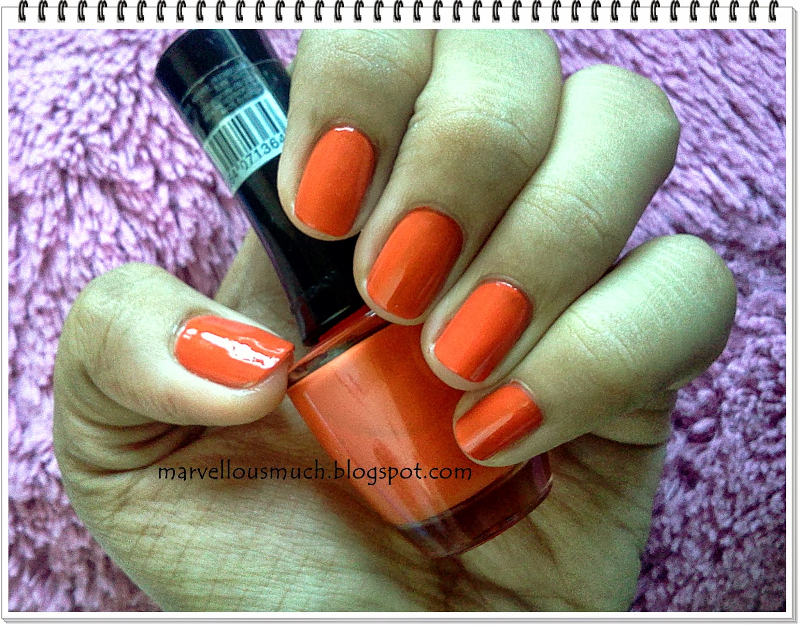 Inspired by Zooey\'s Orange Nails: THE FACE SHOP LOVELY ME: EX PAINT ...