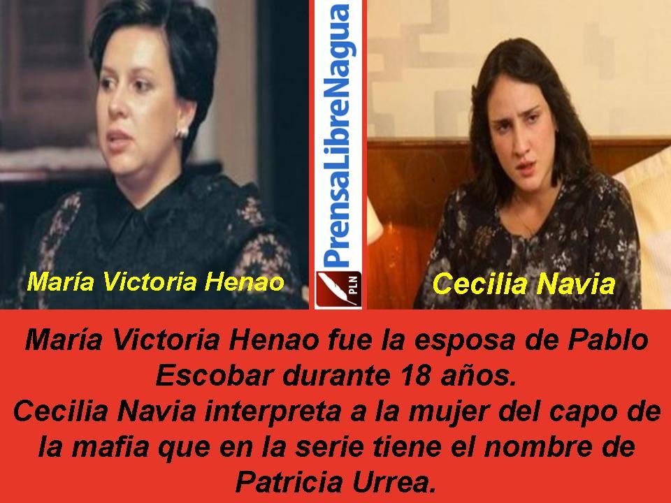 María Victoria Henao fue la esposa de Pablo Escobardurante 18 años.