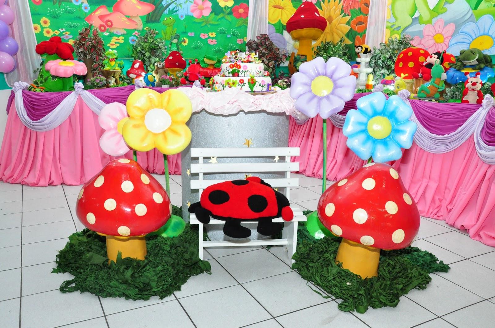 fotos festa jardim encantado:Aquarela Festa & CIA: Jardim Encantado Rosa