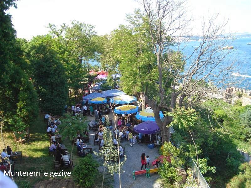 Gülhane parkı set üstü çay bahçesi