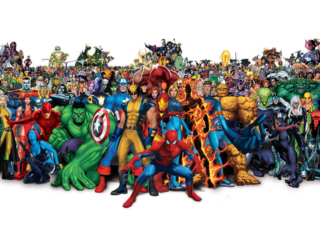 Marvel superhero pictures  Cartoons gallery
