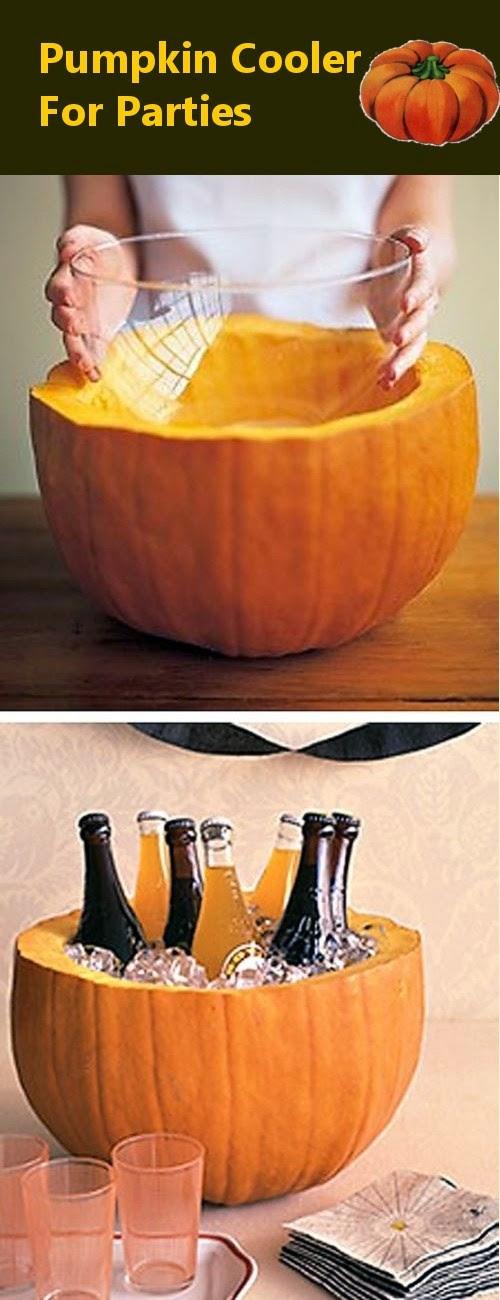 Pumpkin Cooler for Parties