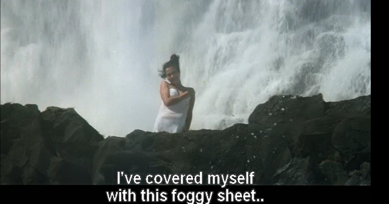 Mandakini, foggy sheet