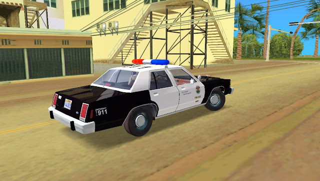 Ford LTD Crown Victoria Police 1985 GTA Vice City