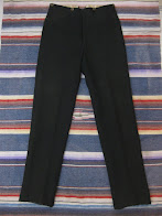 画像① around 1910's               BUCKLE BACK                BLACK SLACKS PANTS