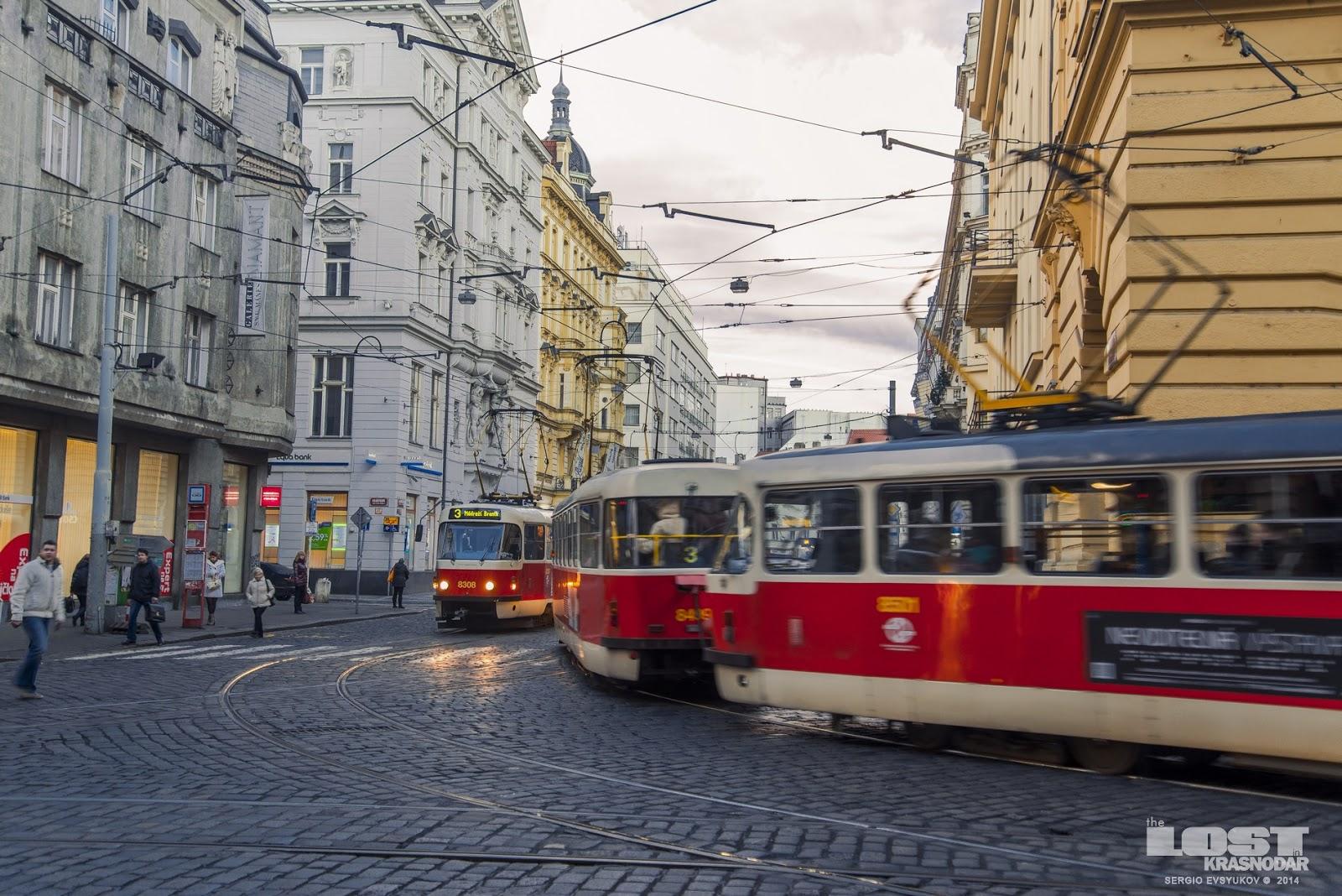 Чешский трамвай ТАТРА