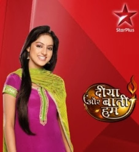 Sandhya in Diya Aur Bati Hum on Star Plus
