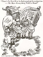 Herblock cartoon, September 8, 1972, from SEC Historical Society