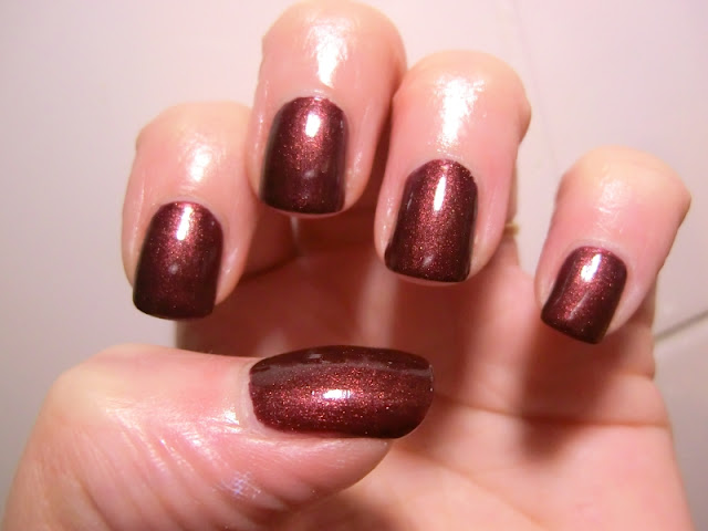 nail polish NYC Canal Street Swatch and Review