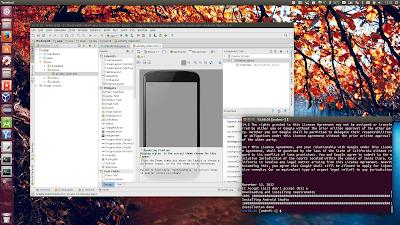 Android Studio Ubuntu Make