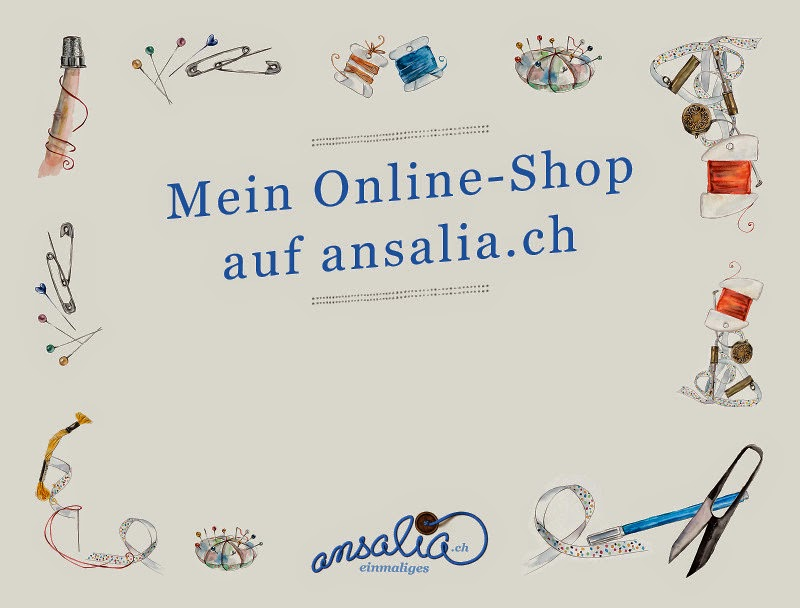 Mein Onlineshop bei ansalia.ch: