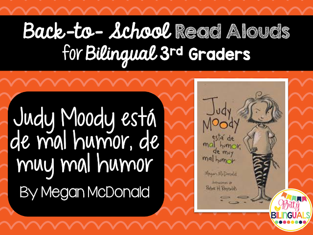 Back-to-School Read Alouds for Bilingual 3rd Graders