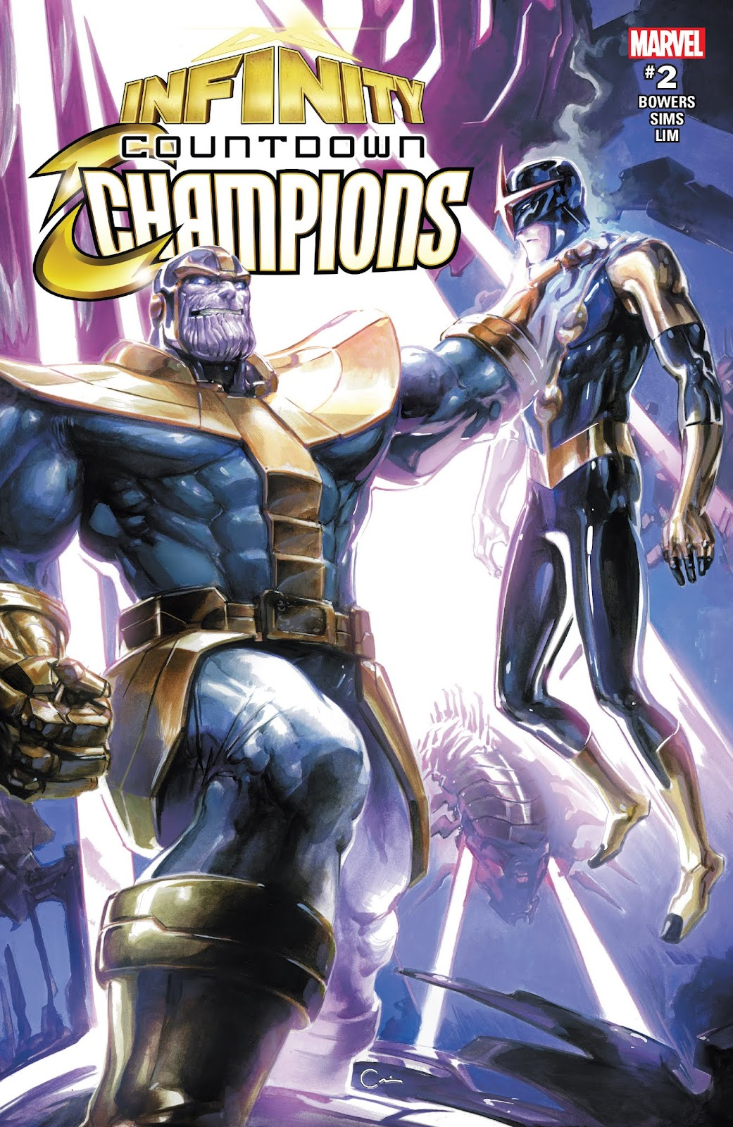 Infinity Countdown: Champions issue 2 - Page 1