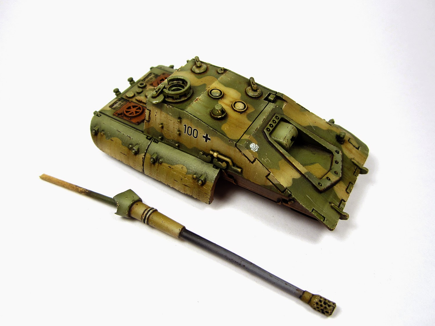 Panzer March!: E-100 Krokodil - Heer46 - E100JK - Chipping